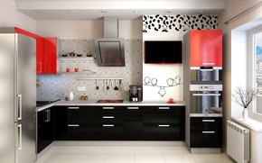 Picture design, interior, Kitchen, the room, layout