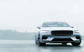 Picture machine, auto, Volvo, Volvo, white, Hybrid, hybrid, Volvo Polestar 1