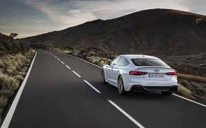 Picture road, Audi, rear view, RS5, Sportback, RS 5, 2020