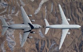 Picture USAF, C-17 Globemaster III, Refueling, KC-30A