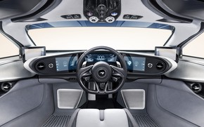 Picture McLaren, salon, hypercar, 2019, Speedtail