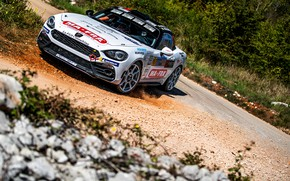 Picture rally, 2018, Abarth, 124 Rally, the road