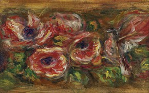 Picture flowers, picture, Anemones, Pierre Auguste Renoir, Pierre Auguste Renoir