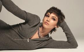 Picture look, girl, pose, makeup, actress, Ursula Corbero