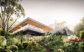 Picture the sky, vegetation, stage, architecture, ARTVILLA