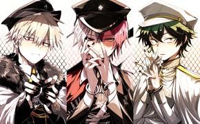 Picture collage, anime, art, heroes, Boku no Hero Academy, My hero Academy