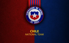 Picture wallpaper, sport, logo, football, Chile, National team