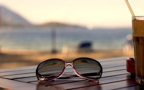 Picture nature, glasses, Style