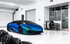 Picture Lamborghini, Vossen, Huracan, Lamborghini Huracan