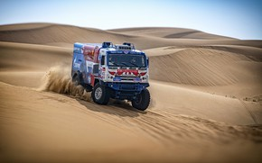 Picture Sand, Sport, Truck, Master, Kamaz, Rally, KAMAZ-master, Rally, KAMAZ, The roads, RedBull, Master, Dune, 403, …