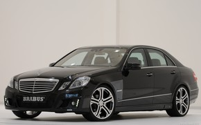 Picture Mercedes-Benz, sedan, W212, the fourth generation of cars E-class, a modified version from the German …