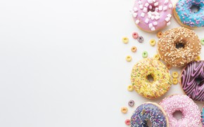 Picture donuts, donut, dessert, cakes, glaze, donuts