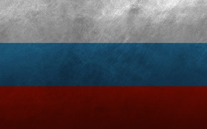 Picture metal, flag, Russia, tricolor, the flag of Russia