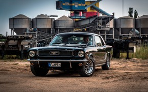 Picture Muscle, Ford Mustang, Classic, Vehicle