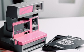 Picture Pink, Camera, Mood, Polaroid