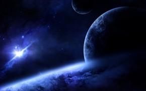 Picture Planet, Space, Orbit, The atmosphere, Satellites, Supernova