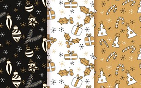 Picture background, toys, texture, christmas, pattern