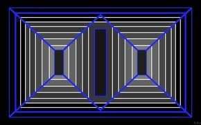 Picture strip, background, dark, figure