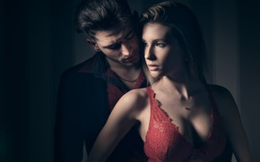 Picture girl, light, photo, passion, pair, male, beautiful, lovers, Bruno carpentier