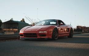 Picture Red, Road, Honda NSX, Sport Car, Japan Car