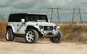 Wallpaper Wrangler, Jeep, Forgiato, Jeep Wrangler Forgiato