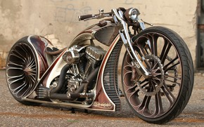 Picture Custom, Motorcycle, Thunderbike