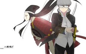 Picture background, the game, anime, art, guy, characters, Persona 4, Person 4