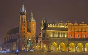 Picture Poland, Krakow, St. Mary's Church, The cloth hall