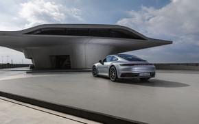 Picture coupe, 911, Porsche, Playground, Carrera 4S, 992, 2019