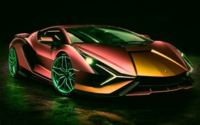 Picture color, backlight, supercar