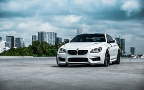 Picture BMW, White, F13, Sight, LED
