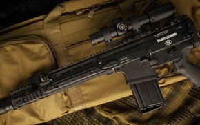 Picture weapons, machine, weapon, assault rifle, SCAR-H, SCAR, assaul rifle