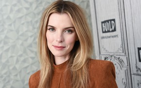 Picture look, portrait, actress, hair, Betty Gilpin, Betty Gilpin