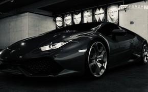 Picture HDR, Lamborghini, Game, Silver, Huracan, Lamborghini Huracan, Filter, FM7, UHD, Forza Motorsport 7, 4K, Xbox …