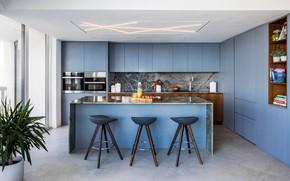 Picture room, interior, kitchen, Williams Island
