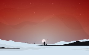 Picture The sun, Minimalism, Star Wars, Style, Art, The film, Star Wars, Character, Character, Comic Art, …