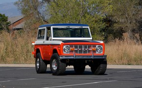 Picture Ford, 1971, Wagon, Bronco, before, Baja Edition, Stroppe