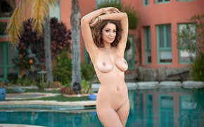 Wallpaper sexy, model, beauty, naked, Ali Rose, Nude