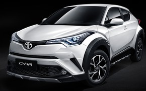 Picture Toyota, 2018, crossover, C-HR