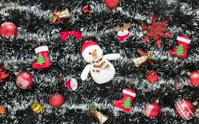 Picture decoration, New Year, Christmas, Christmas, New Year, decoration, Merry