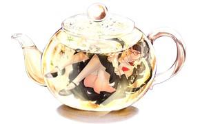 Picture Girl, Tea, Kettle, moemi tobi