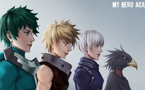 Picture background, group, guys, My Hero Academia, Boku No Hero Academy, My Hero Academy