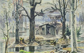 Picture Charles Ephraim Burchfield, 1934-55, The Glory of Spring