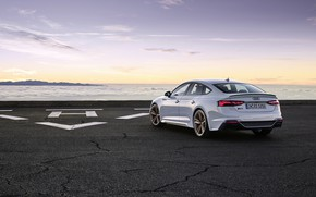 Picture sunset, Audi, the evening, rear view, RS5, Sportback, RS 5, 2020