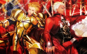 Picture guys, Gilgamesh, Archer, Fate stay night, Fate / Stay Night