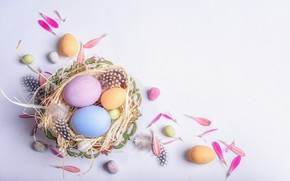Picture holiday, eggs, Easter, composition