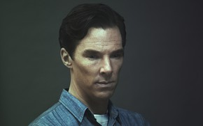 Picture portrait, background, Benedict Cumberbatch, Benedict Cumberbatch, British actor