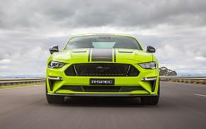 Picture Mustang, Ford, front view, AU-spec, R-Spec, 2019, Australia version