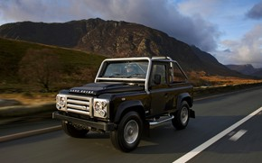 Picture mountains, 2008, Land Rover, Defender, SVX, 60th Anniversary Edition