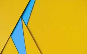Picture line, blue, yellow, geometry, background